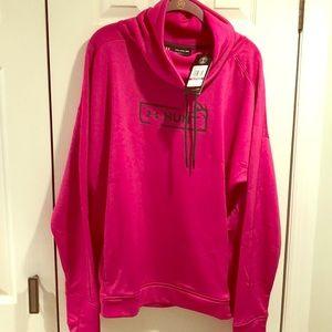 Under Armour NWT women's sweatshirt XXL Raspberry
